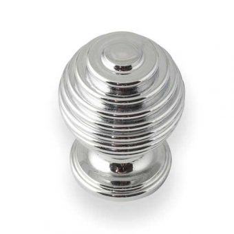 Bee Hive Chrome Knob
