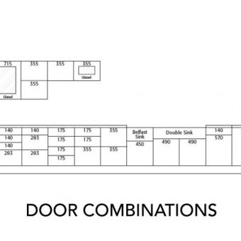 Clicbox Kitchen Door Combinations