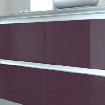 Handleless Kitchen Aluminium Rail