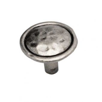Mottled Knob Antique Pewter