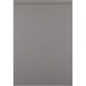 Matt Dust Grey Handleless Door
