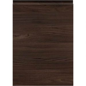 Woodgrain Lava Elm Handleless Door