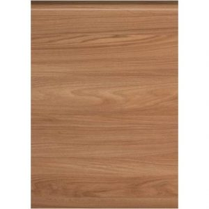 Woodgrain Natural Elm Handleless Door