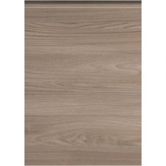 Woodgrain Stone Elm Handleless Door