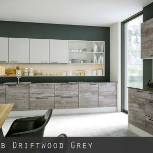 Driftwood Grey Kitchen Doors