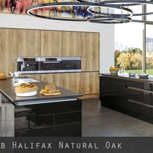 Halifax Natural Oak Kitchen Doors