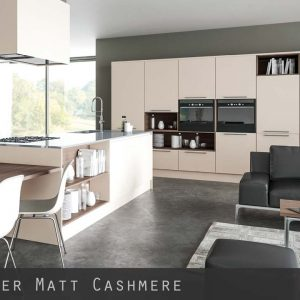Matt Cashmere Kitchen Doors