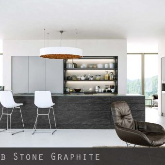 Stone Graphite Kitchen Doors