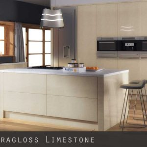 High Gloss Limestone Kitchen Doors