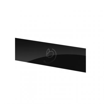 High Gloss Black Kitchen Plinth - Kickboard