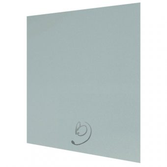 High Gloss Metallic Blue Kitchen Base End Panel