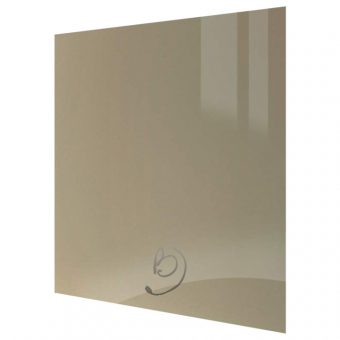 High Gloss Metallic Champagne Kitchen Base End Panel