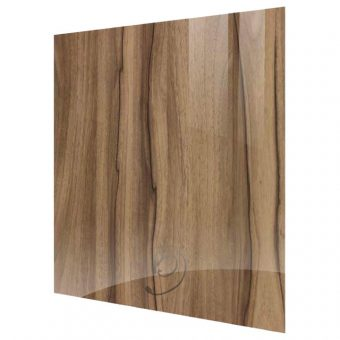 High Gloss Woodgrain Noce Marino Kitchen Base End Panel