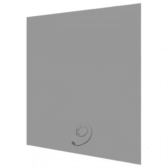Matt Dust Grey Kitchen Base End Panel