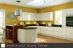 high-gloss-cream-handleless-kitchen
